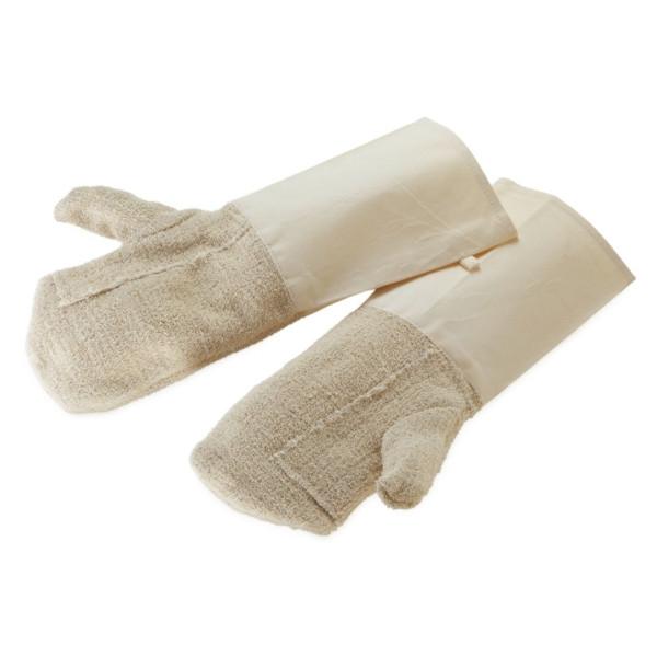 Backhandschuhe, Baumwolle