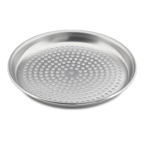 Pizzableche rund, Aluminium