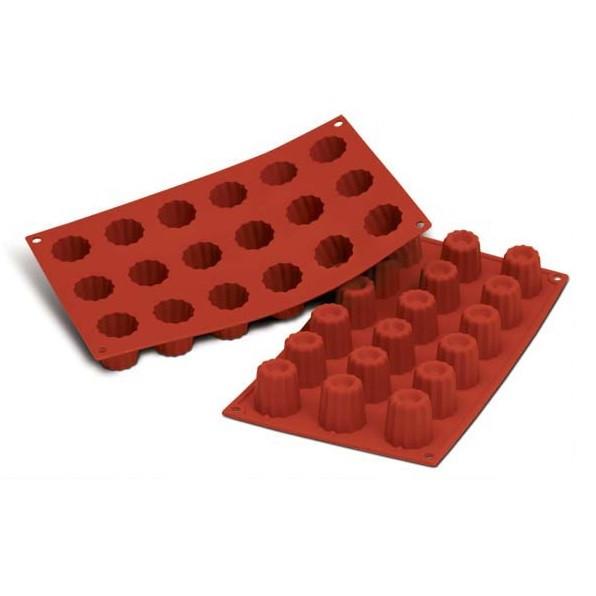 Silikonbackformen / Silikonbackmatten, rot, 30 x 17,5 cm