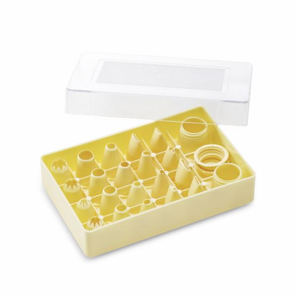 Tüllensets MIX in Sortierbox, Kunststoff