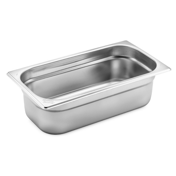 GN 1/3 container without handles, stainless steel