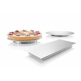 Tortenplatten Edelstahl